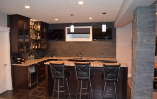 Edmonton Basement Remodel - MODE Contracting